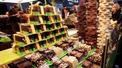 استهلاك العالم من الشوكولا