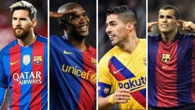 تاريخ نادي برشلونة الاسباني