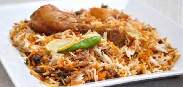 أرز مندي بالدجاج
