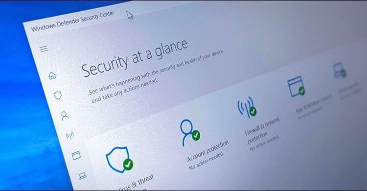 إغلاق إشعارات تطبيق Windows Defender