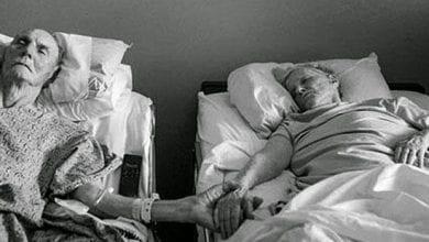 حب زوجين حتى الموت